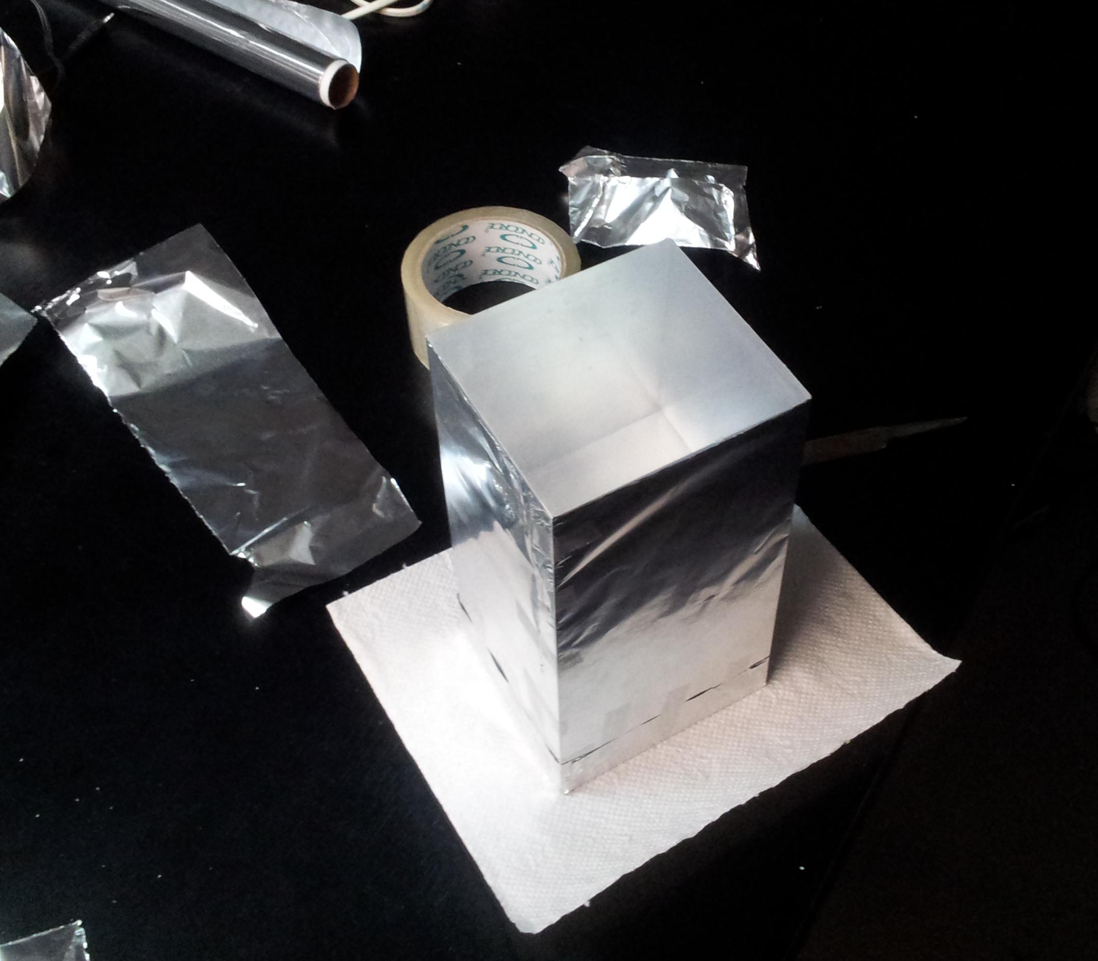 FAG wrapped in aluminium