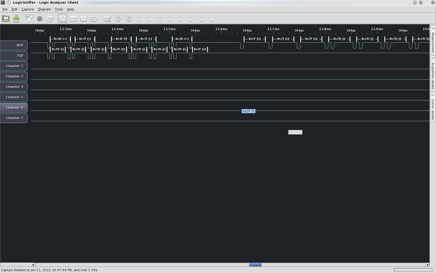 ARM hardware debugging [brmlab]