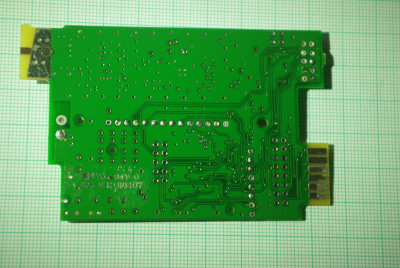 main PCB back side top layer