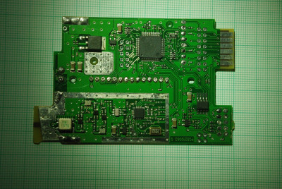 main PCB front side top layer