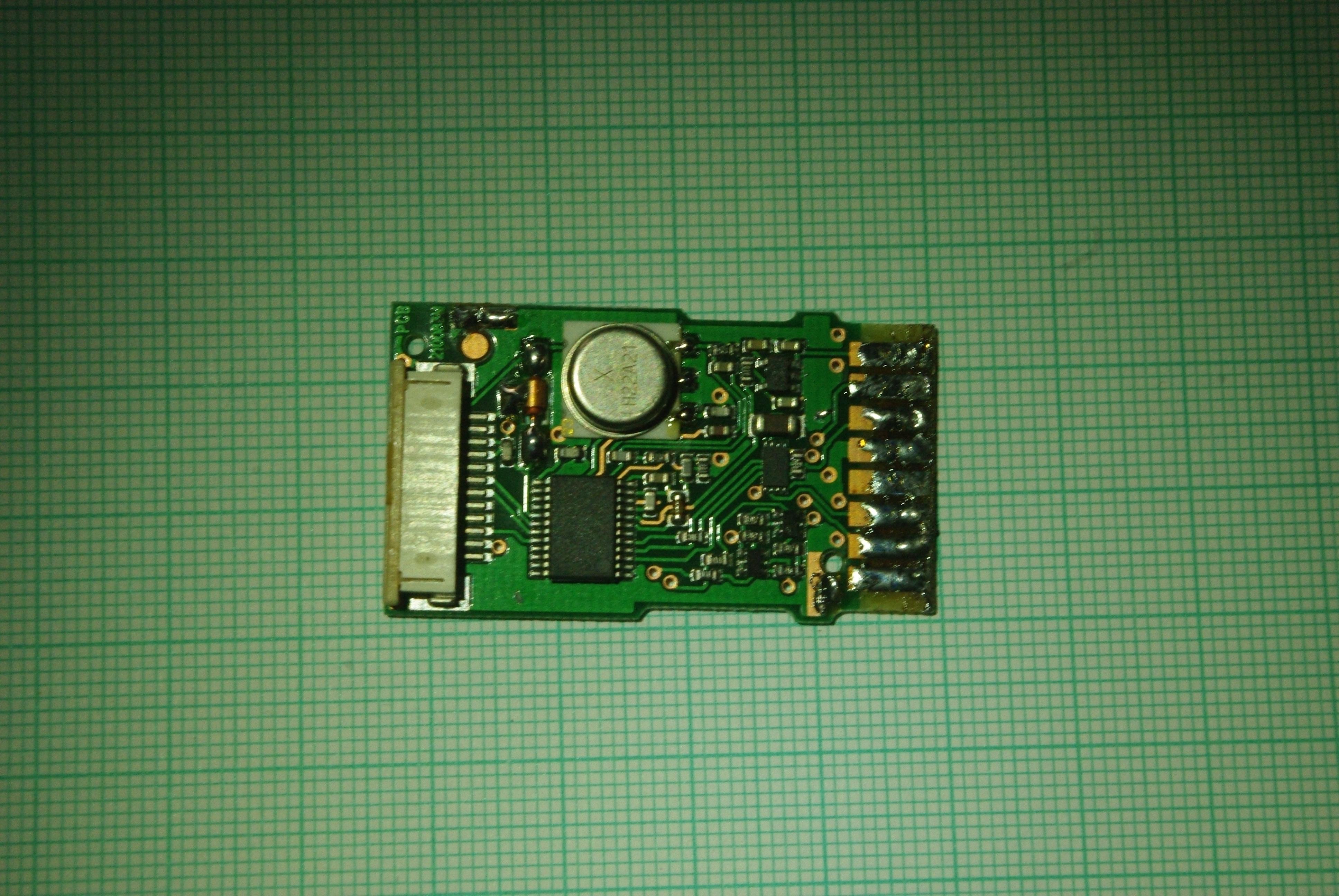 sensors PCB front side