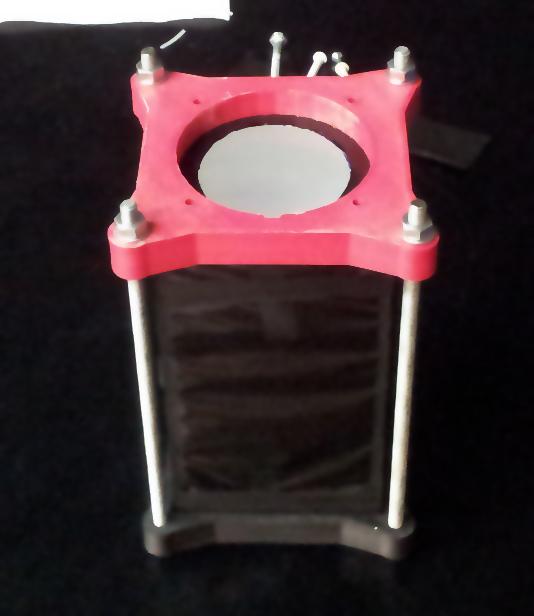 Scintillation counter frame