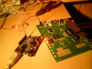 Asus talking to the computer using Arduino as TTLserial-USB converter